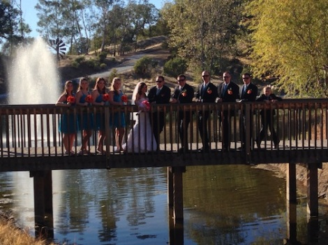 I hope that this photo captures the beauty of this day.  It was just perfect fall wedding weather.